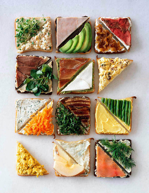Duotone Sandwiches