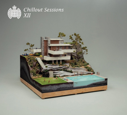 Miniature Architecture Diorama - Chillout Session Album Artwork