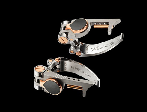 Mechanical Cufflinks from AK47s