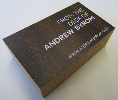 Desk Business Cards
