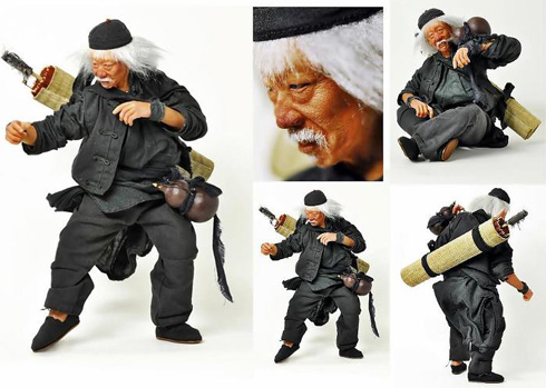 Old Drunken Master Figure