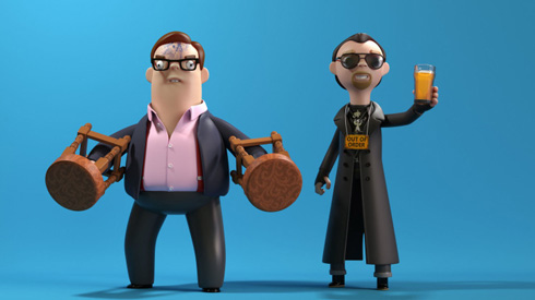The Cornetto Trilogy - Vinyl Figures from A Large Evil Corporation