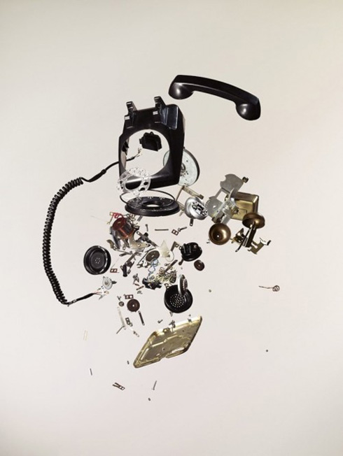 Exploded Telephone