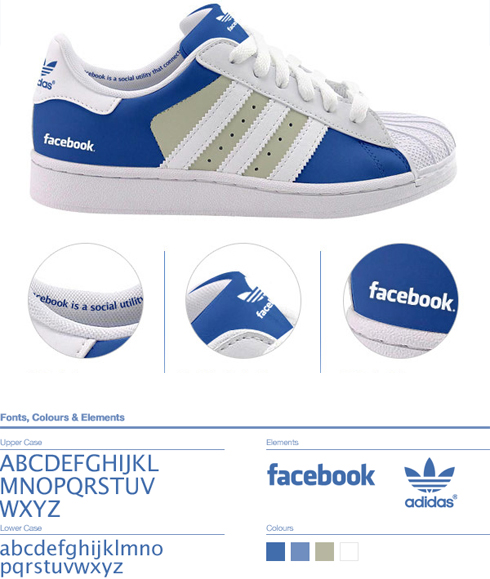 Facebook shoe