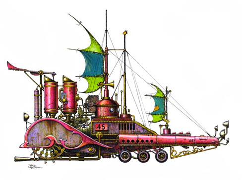 Fanciful Submarines
