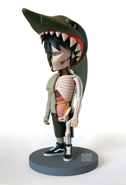 Coarse Toys Jaws Dissected By Jason Freeny