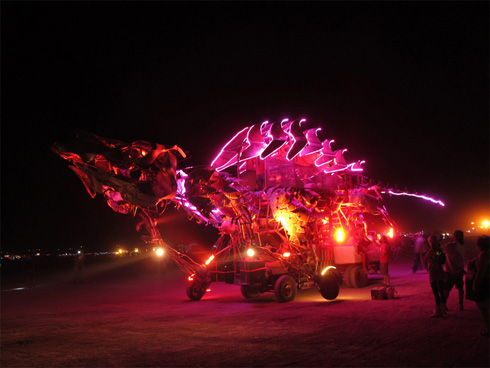 Gon KiRin Art Car