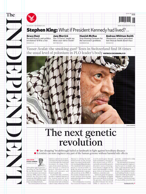 The Independent Newspaper Redesign