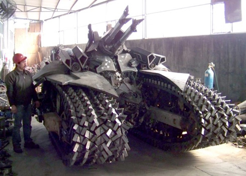 Chinese Megatron Tank