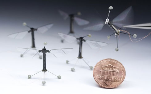 Miniature Flying Robots