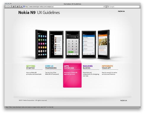 Nokia UX Guidelines