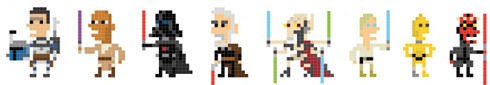 Pixellated Star Wars