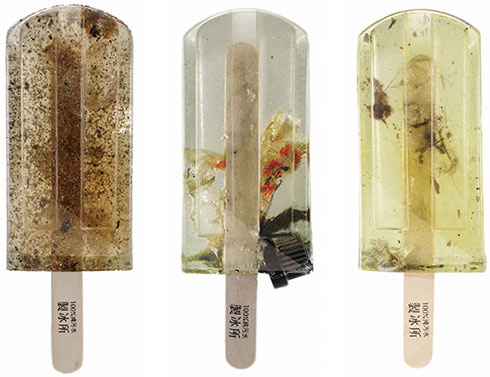 Polluted Water Popsicles