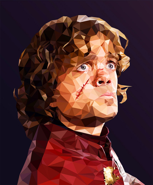 Low Polygon Game of Thrones