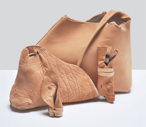 Leather from Cow Body Parts