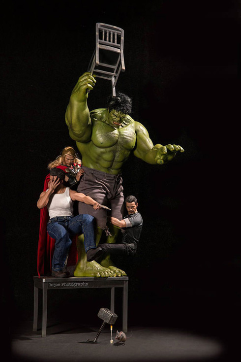 Regular Superheroes - Figure Photography