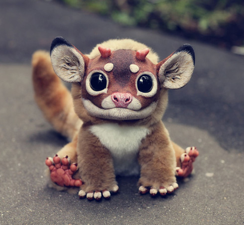 Realistic Creature Dolls by Santani