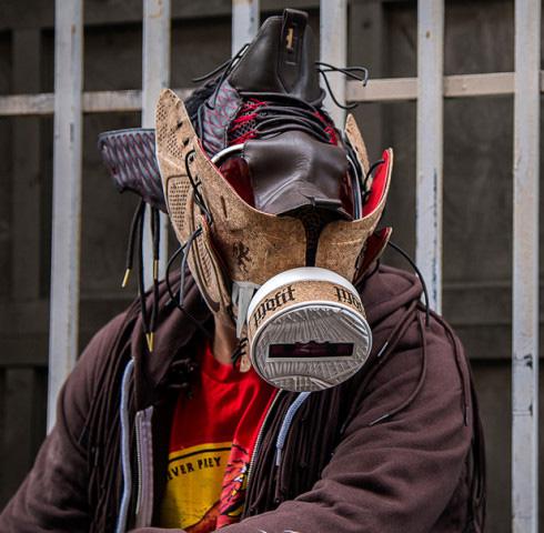 Sneaker Gas Masks