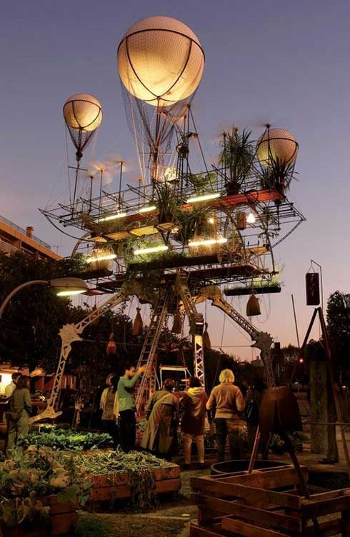 Flying Greenhouse
