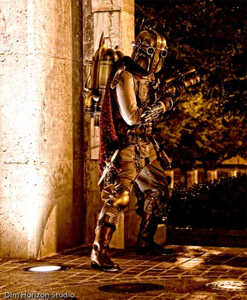 Steampunk Boba Fett