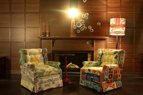 Tea Towel Furniture