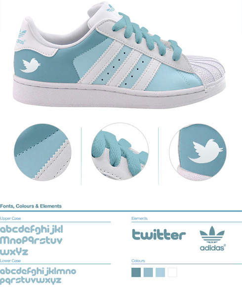 Twitter shoe