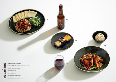 Wagamama - You Eat With Your Eyes First
