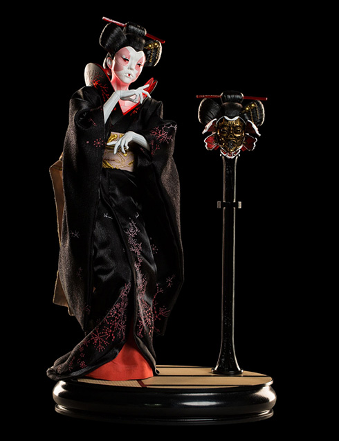 Ghost In The Shell Geisha 1/4 Figure