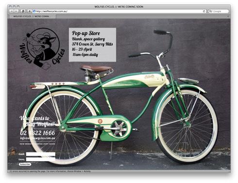 wolfiescycles
