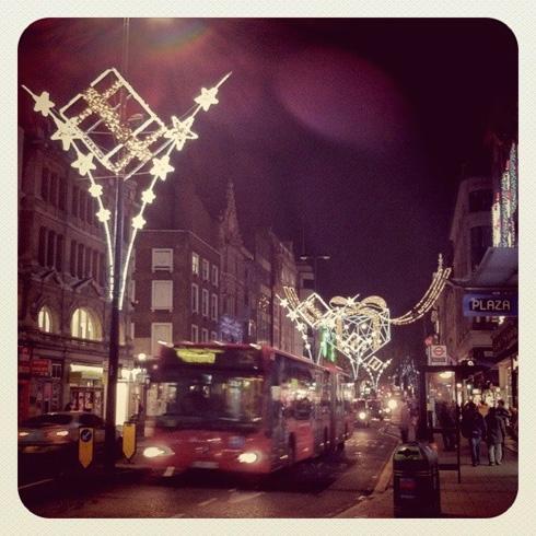 Xmas Lights Oxford Street